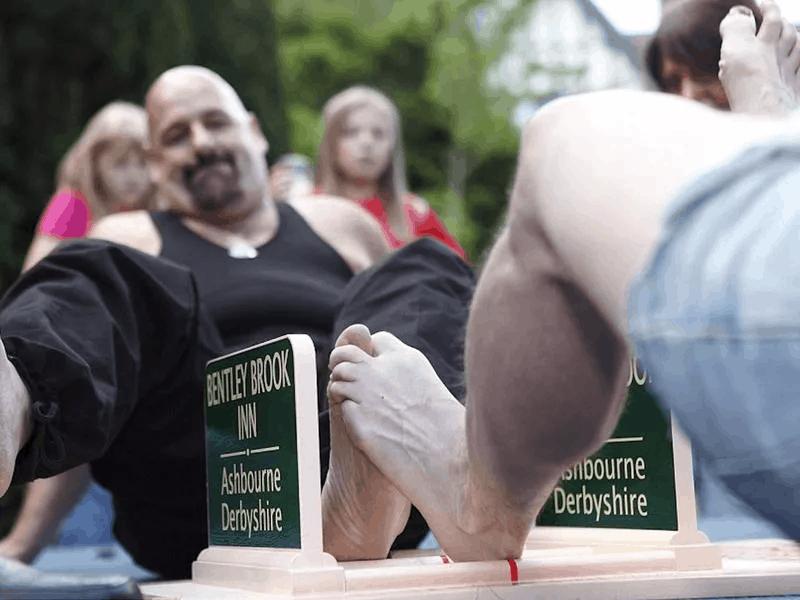 Mundja e gishtërinjve të këmbës