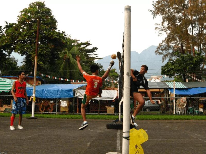 Volejboll me këmbë (Sepak Takraw)
